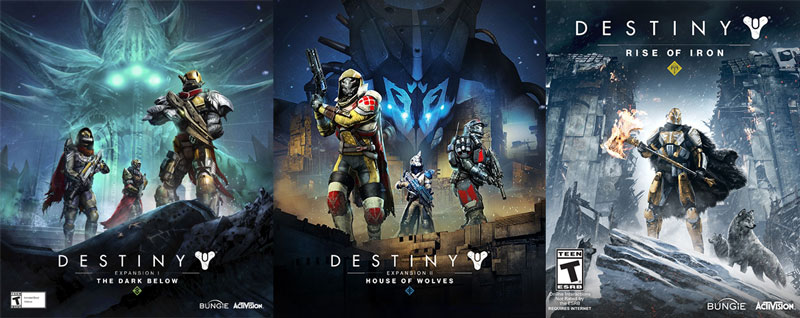 Destiny Expansions