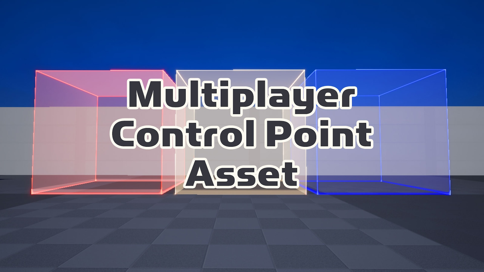 Multiplayer Control Point Asset